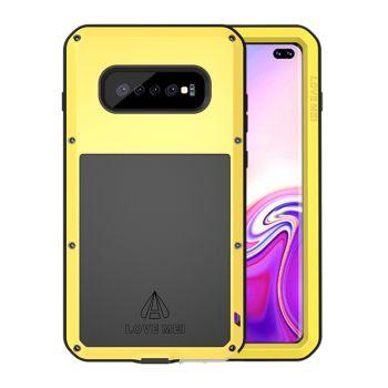 Чехол Love Mei Powerful для Samsung Galaxy S10 Plus Yellow желтый