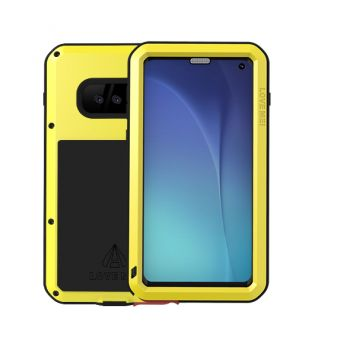 Чехол Love Mei Powerful для Samsung Galaxy S10e Yellow желтый