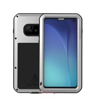 Чехол Love Mei Powerful для Samsung Galaxy S10e Silver серебристый