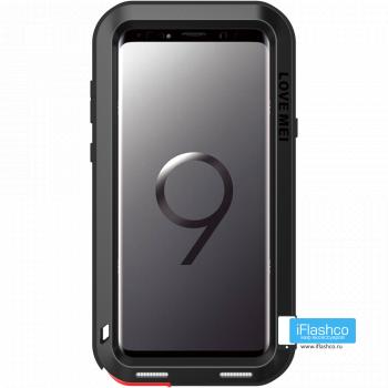 Чехол Love Mei Powerful для Samsung Galaxy S9 Black черный