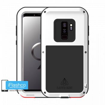 Чехол Love Mei Powerful для Samsung Galaxy S9+ White белый