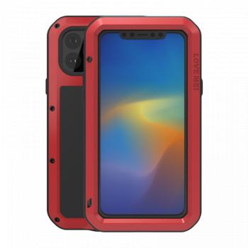 Ударопрочный чехол Love Mei Powerful для iPhone 11 Pro Max Red