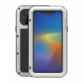 Ударопрочный чехол Love Mei Powerful для iPhone 11 Pro Max Silver