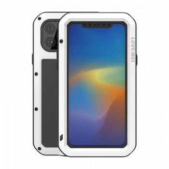 Ударопрочный чехол Love Mei Powerful для iPhone 11 Pro Max White