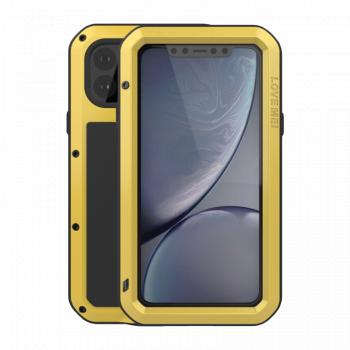 Ударопрочный чехол Love Mei Powerful для iPhone 11 Pro Yellow