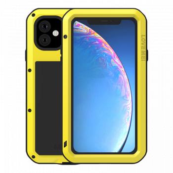 Ударопрочный чехол Love Mei Powerful для iPhone 11 Yellow