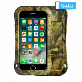 Чехол Love Mei Camo Series Small Waist Jungle для iPhone 7/8/SE