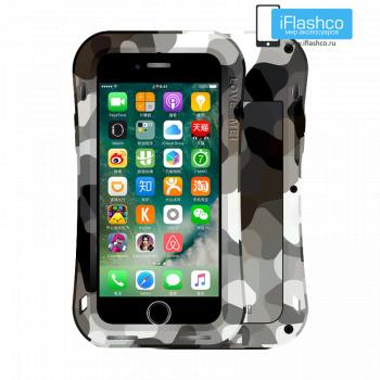 Чехол Love Mei Camo Series Small Waist Desert для iPhone 7 Plus / 8 Plus