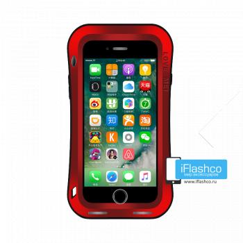 Чехол Love Mei Deff Cleave для iPhone 7 Plus / 8 Plus красный