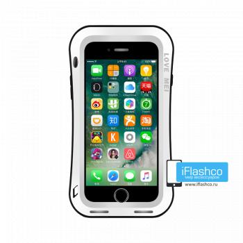 Чехол Love Mei Deff Cleave для iPhone 7 Plus / 8 Plus белый