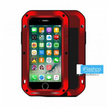 Чехол Love Mei Powerful для iPhone 7 Plus / 8 Plus красный
