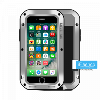 Чехол Love Mei Powerful для iPhone 7 Plus / 8 Plus серый