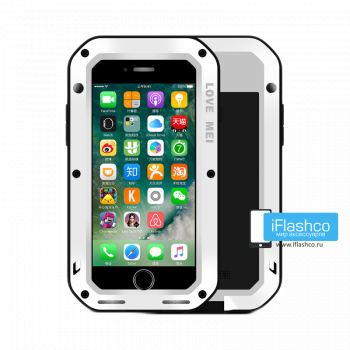 Чехол Love Mei Powerful для iPhone 7 Plus / 8 Plus белый