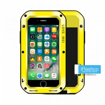 Чехол Love Mei Powerful для iPhone 7 Plus / 8 Plus желтый