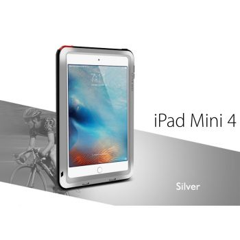 Чехол Love Mei Powerful для iPad mini 4 / 5 Silver серебристый
