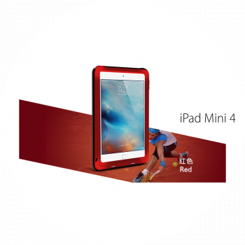 Чехол Love Mei Powerful для iPad mini 4 / 5 Red красный