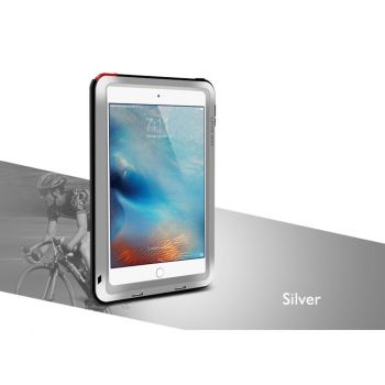 Чехол Love Mei Powerful для iPad mini / mini 2 / mini 3 Silver серебристый