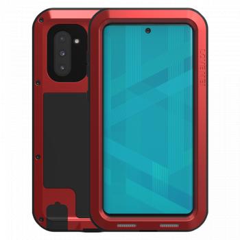 Ударопрочный чехол Love Mei Powerful Red для Samsung Galaxy Note 10