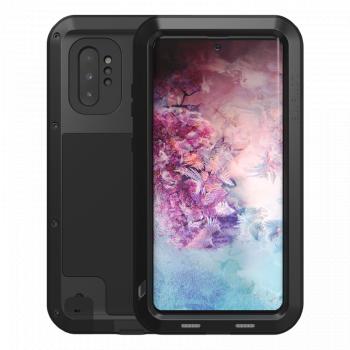 Ударопрочный чехол Love Mei Powerful Black для Samsung Galaxy Note 10+