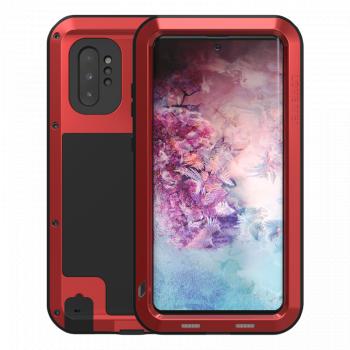 Ударопрочный чехол Love Mei Powerful Red для Samsung Galaxy Note 10+