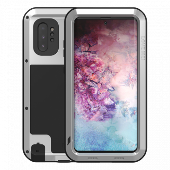 Ударопрочный чехол Love Mei Powerful Silver для Samsung Galaxy Note 10+