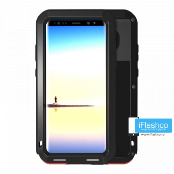 Чехол Love Mei Powerful для Samsung Galaxy Note 8 черный