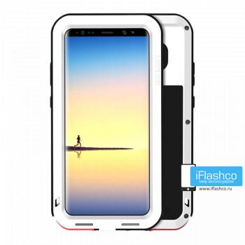 Чехол Love Mei Powerful для Samsung Galaxy Note 8 белый