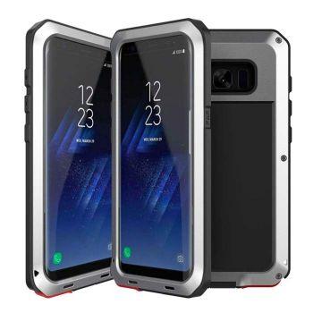Чехол Lunatik Taktik Extreme для Samsung Galaxy S8+ Silver серебристый
