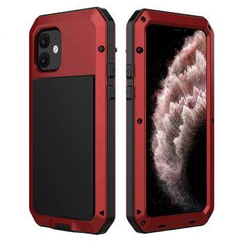 Ударопрочный чехол Lunatik Taktik Extreme Satin Red для iPhone 11
