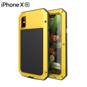 Чехол Lunatik Taktik Extreme для iPhone XR Yellow желтый