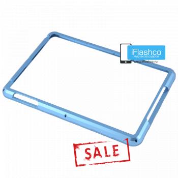 Бампер металлический для iPad mini 1 / 2 / 3 голубой