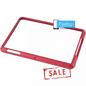 Бампер металлический для iPad mini 1 / 2 / 3 красный