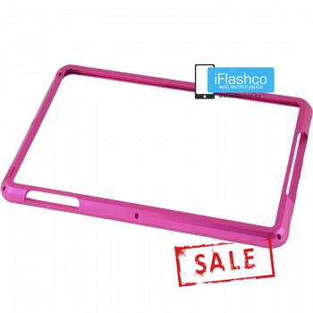 Бампер металлический для iPad mini 1 / 2 / 3 розовый