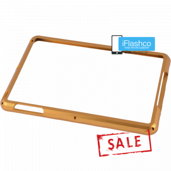 Бампер металлический для iPad mini 1 / 2 / 3 золотистый