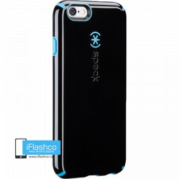 Чехол ударопрочный Speck CandyShell для iPhone 6 / 6s черный с голубым