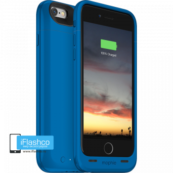 Чехол-аккумулятор Mophie Juice Pack Air Blue Spectrum для iPhone 6 / 6s синий