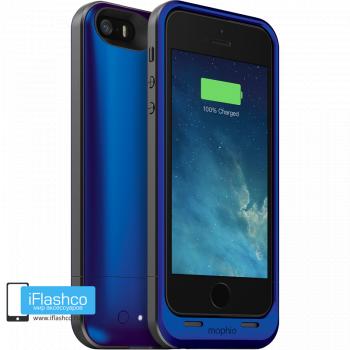 Чехол-аккумулятор Mophie Juice Pack Air Cobalt для iPhone 5 / 5S / SE синий