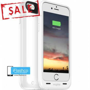 Чехол-аккумулятор Mophie Juice Pack Air Gloss White для iPhone 6 / 6s белый