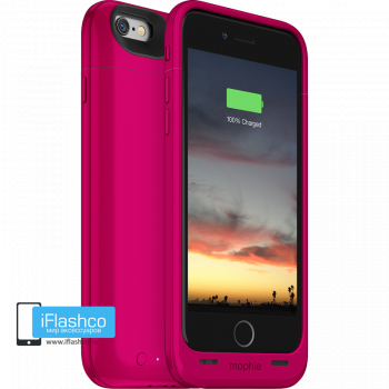 Чехол-аккумулятор Mophie Juice Pack Air Pink Spectrum для iPhone 6 / 6s розовый