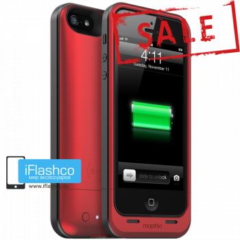 Чехол-аккумулятор Mophie Juice Pack Air PRODUCT (RED) для iPhone 5 / 5S / SE красный