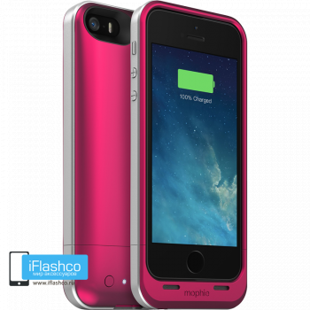 Чехол-аккумулятор Mophie Juice Pack Air Rose для iPhone 5 / 5S / SE розовый