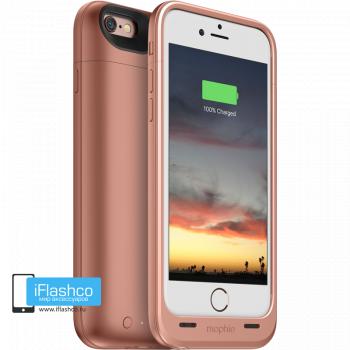 Чехол-аккумулятор Mophie Juice Pack Air Rose Gold для iPhone 6 / 6s розовое золото