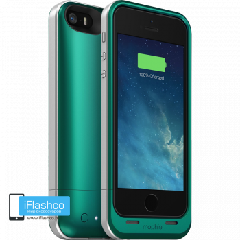 Чехол-аккумулятор Mophie Juice Pack Air Teal для iPhone 5 / 5S / SE зеленый