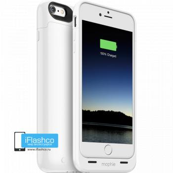Чехол-аккумулятор Mophie Juice Pack Gloss White для iPhone 6 Plus / 6s Plus белый