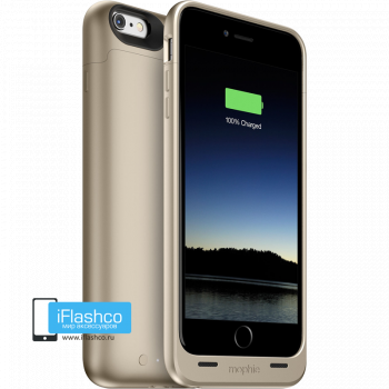 Чехол-аккумулятор Mophie Juice Pack Gold для iPhone 6 Plus / 6s Plus золотой