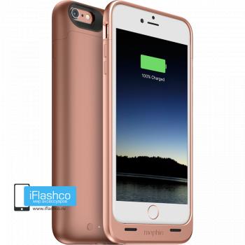 Чехол-аккумулятор Mophie Juice Pack Rose Gold для iPhone 6 Plus / 6s Plus розовый