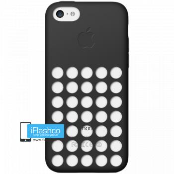 Чехол Apple Case для iPhone 5C черный