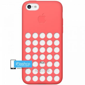Чехол Apple Case для iPhone 5C красный