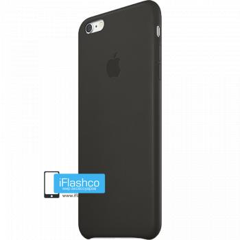 Чехол Apple Leather Case Black для iPhone 6 Plus / 6s Plus черный