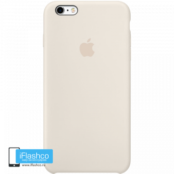 Чехол Apple Silicone Case для iPhone 6 Plus / 6s Plus Antique White